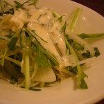7126107 - 水菜とセロリのサラダ