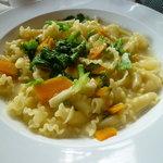 デル・ジョルノ Italia - 菜の花、かぼちゃのクリームソース