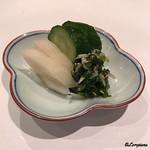 祇園 岩元 - 香の物