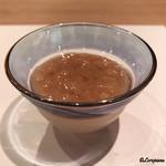 祇園 岩元 - 金柑ソースのブラマンジェ