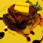 炭焼きイタリアン酒場 炭リッチ - 限定3食    ゴッツ  the   Got's   道産牛とフォアグラを豪快に     ¥1780