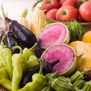 全国から届く朝摘み野菜