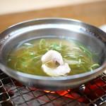松川 - 天然鰻のしゃぶしゃぶ