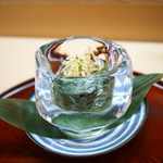 松川 - 笹を練り込んだ冷や麦