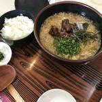 ワイナリーレストラン朝霧の庄 - ◇すっぽんラーメン ※ライス付き 1728円