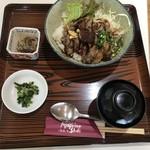 ワイナリーレストラン朝霧の庄 - ◇ステーキ丼 1620円
