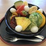 みつばち - 料理写真:抹茶クリームあん蜜:550円