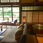 蘇山荘 - 表具の桟も美しいです