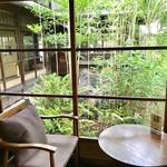 蘇山荘 - 左手の廊下にはカウンター席のお部屋もありました