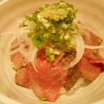 藤香想 - 陸 RIKUのローストビーフ丼