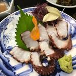 天ぷら亭 - 蛸刺し