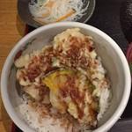 71265168 - 小えび天丼定食の小えび天丼