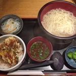 71265175 - 小えび天丼定食(大盛り)