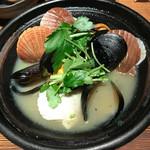 和食 えん - ムール貝とほたて酒蒸