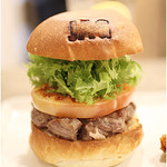 JAGBAR potato & hamburger - 限定の「JAGバーガー」