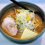 パンケ - 料理写真:パンケ 京成大久保店(みそ800円+バター100円)
