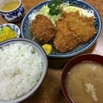 とんかつ吉乃家 - 定食(700円)