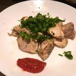 鶏のむら - 黒岩土鶏(宮城県産の地鶏)ロースムネ肉のしそ梅