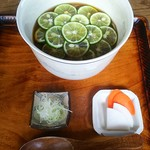 蕎麦と雑穀料理 杜々 - 柚子そば