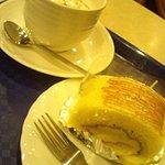 カフェ 器 - ホットショコラ&キャラメルロール