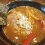 石焼濃厚つけ麺 みやこ家 - 料理写真:濃厚中華そば 750円