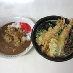 きぬそば - 天ぷらそば&カレー
