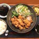 酒場  シナトラ - ランチ唐揚げ定食