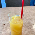幸せのパンケーキ - オレンジジュース