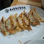 71273258 - 黒豚にんにく焼き餃子