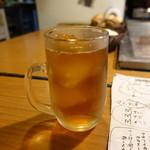 炉ばたワコー - ☆烏龍茶で乾杯(^_-)-☆☆