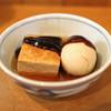 Katou - 料理写真:おでん(厚揚げ、玉子)