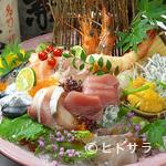 和洋びすとろ じゅあん - 本日の鮮魚盛り合わせ
