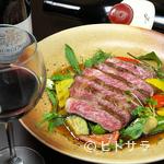 和洋びすとろ じゅあん - 系列店ならではの上質な肉、地元産の新鮮野菜を中心とした料理