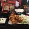 焼鳥 なごみ屋 - 料理写真:鶏の唐揚げ定食