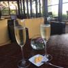 シギラベイサイドスイートアラマンダ - ドリンク写真:ラウンジのシャンパン飲み放題はたまらない。