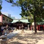 中国料理 百楽 - 甲子園球場の敷地内にある素盞嗚神社(すさのおじんじゃ)。