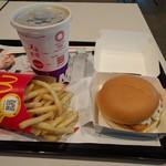 マクドナルド - 料理写真:フィレオフィッシュバリューランチ550円