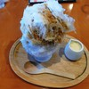珈茶話 - 料理写真:カフェラテのかき氷