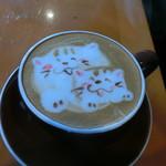 珈茶話 - カフェラテとラテアート