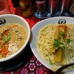 つるかめ - 西京味噌担々つけ麺