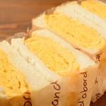 メールネージュ - 料理写真:厚焼き玉子のサンドイッチ
