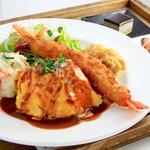 ロヂウラ食堂 - 色々食べれる「レディースセット」