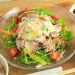 ロヂウラ食堂 - 夏はさっぱり「冷しゃぶ定食」