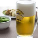 ホテルダイニングBliss - ドリンク写真:生ビール