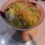 71284549 - ジャジャーン湯麺完成です