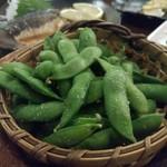 居酒屋根 - 枝豆