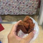 三矢本舗 - 料理写真:サーターアンダギー 紅芋