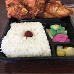 日の丸亭 - から揚げ弁当        ¥480
