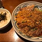 亜寿加 - 排骨冷やし担々麺980円