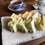 遊形 サロン・ド・テ - サンドイッチ